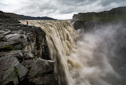 Visit the most powerful waterfall in Europe Dettifoss from both sides and the amazing scenery in the area.></a> 				</div> 				<div class=