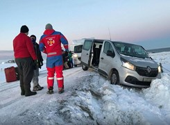 Icelandic Crash on Closed Road