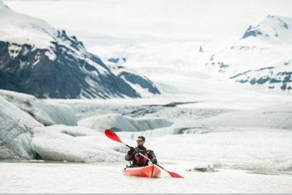 Kayaking down Icelandic Glacial River></a> 				</div> 				<div class=