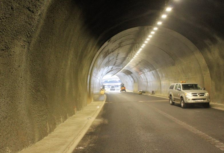 Tunnel in Iceland